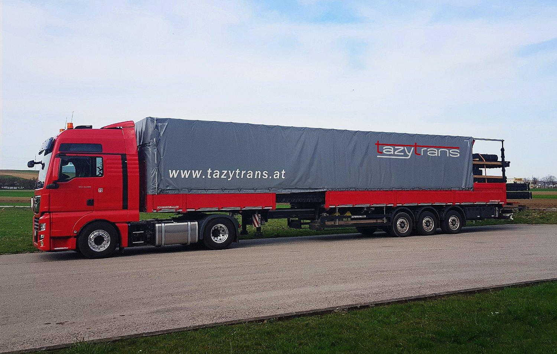 TAZYTRANS Logistik –Teleskopsattel